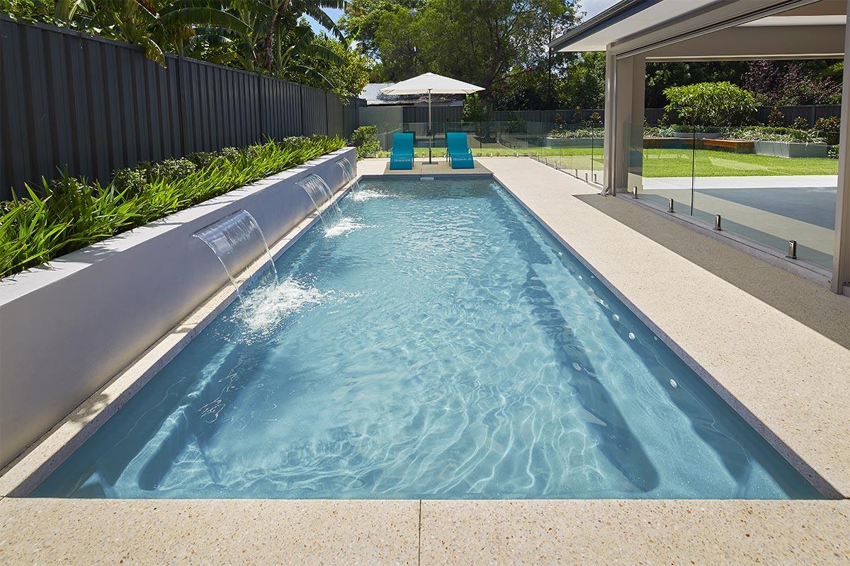 Pool Colour Sandstone Shimmer