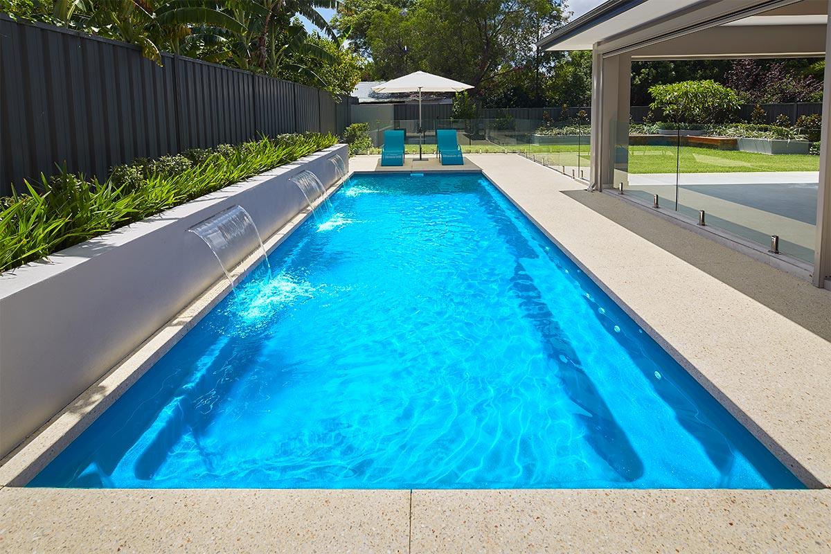 Pool Colour Sky Blue Shimmer