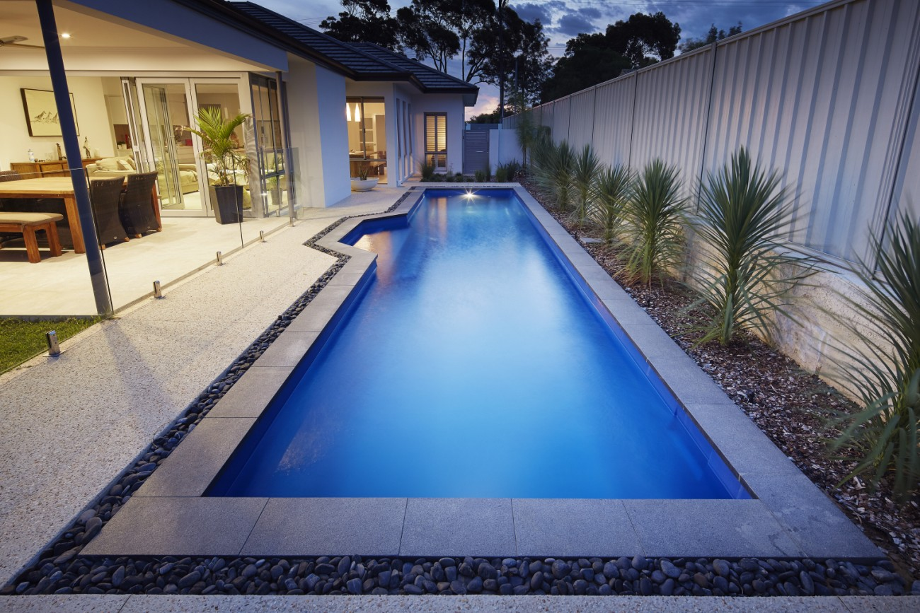 Inground Pool Designs By Barrier Reef Pools 12m Lap Pool In Point Walter