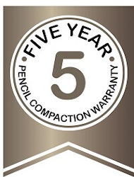 5 Year Pencil Compaction Warranty