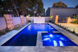 SPASA 2018 Bronze Winner Fibreglass Pool and Spa