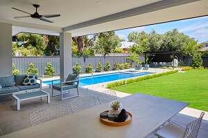 SPASA 2018 Gold winner Fibreglass Pool and Spa