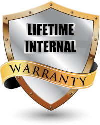 Lifetime Internal Warranty
