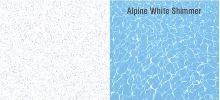 Alpine White Shimmer UV Resistant