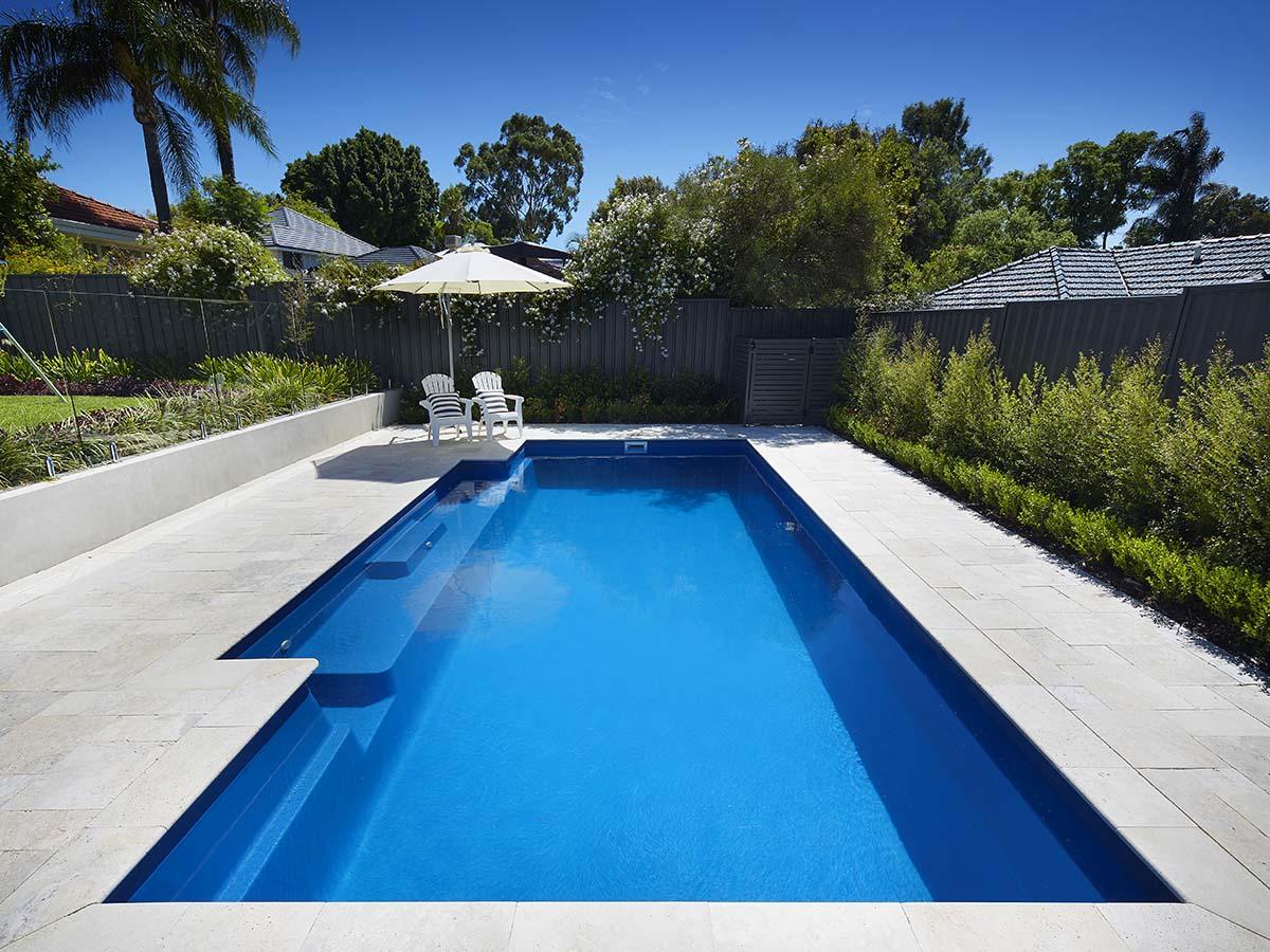 monaco fibreglass pool