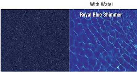 UV Resistance Royal Blue Shimmer